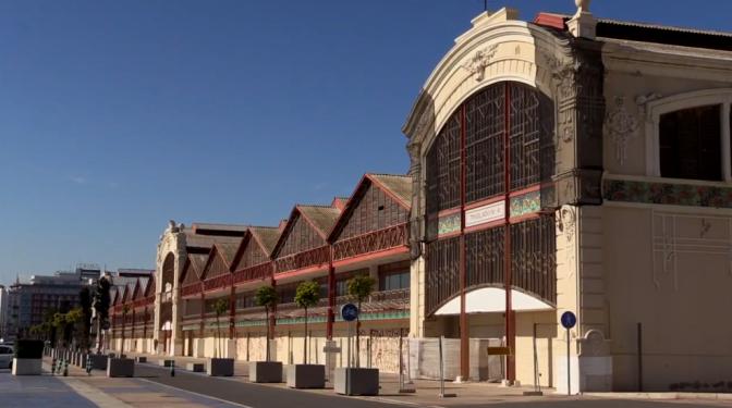 Video  : Los tinglados del puerto de Valencia 2016